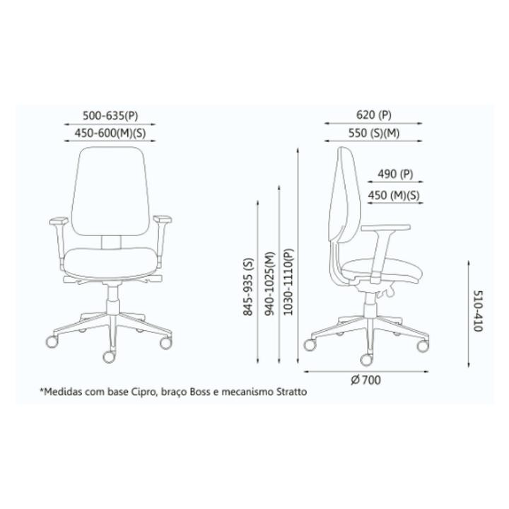 Cadeira Diretiva Orion