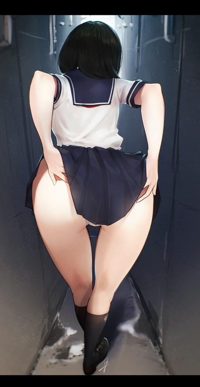 16 - 【二次】太ももがエッチな女の子のエロ画像 Part1