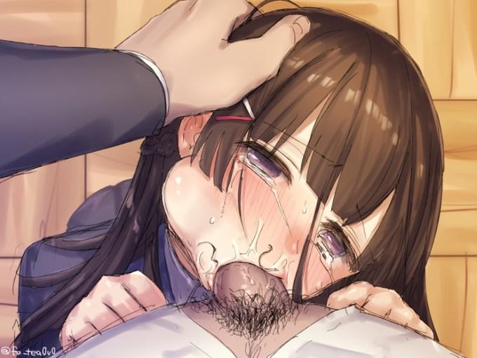 3のエロ画像25 - 【二次】唾液、ツバが出てる女の子のエロ画像 Part3
