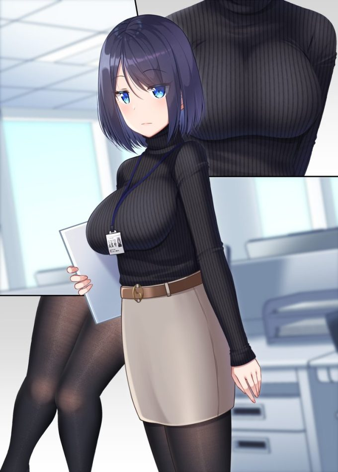 4のエロ画像03 - 【二次】セーター、リブニットを着た女の子のエロ画像 Part4
