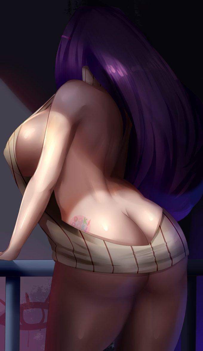 12の二次エロ画像02 - 【二次】パンツを履いていないノーパン状態の女の子の画像 Part12
