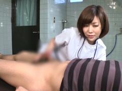美人勃起女医CFNM治療CFNM ED症状で悩む男性患者を美人女医さんが献身的におちんちん治療しちゃう05:04