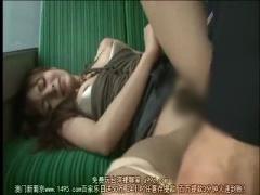 Rioハーフパンツ美女バスバスでパンツずらされて肉棒ブチ込まれるハーフ美女15:03