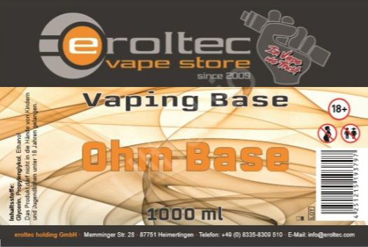 eroltec Ohm Base Lable
