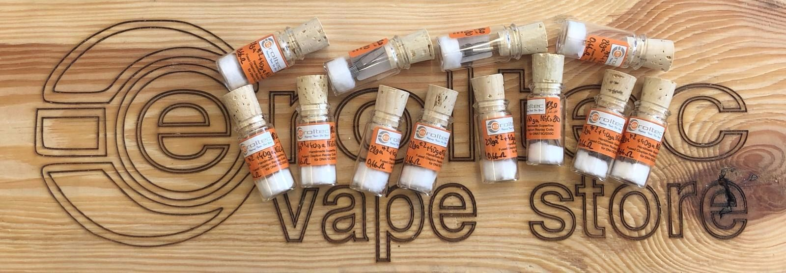 Fused Clapton Handmade Replay Coils