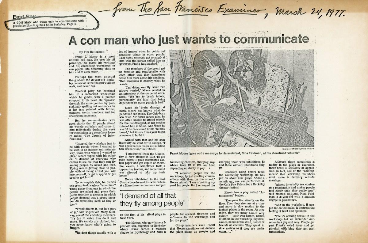 San Francisco Examiner, March 24, 1977