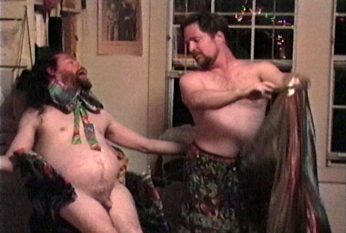 Frank Moore & Fred Hatt dancing