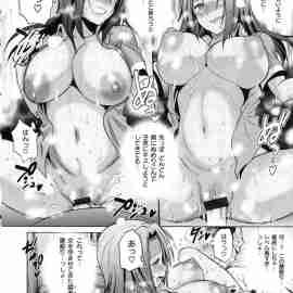 【エロ漫画】部員を庇った教師にお礼をするためにフェラをしてあげた巨乳部員達がフェラでイカセられないと判断すると生ハメセックスしだすwww