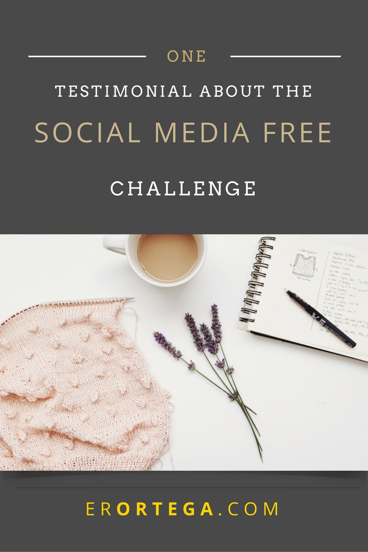 My Findings During the 7 Day Christ-Centered and Media Free Challenge. Read one participant's testimonial and how she was provoked unto good works during the challenge here.