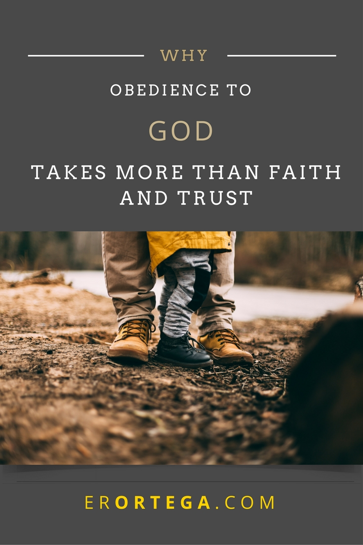 Obedience to God takes more than faith and trust in the God who can. It takes tears, muscle, thick skin, rejection, confusion, errors, and loss. Read more about surrendering to God when the storms hit.