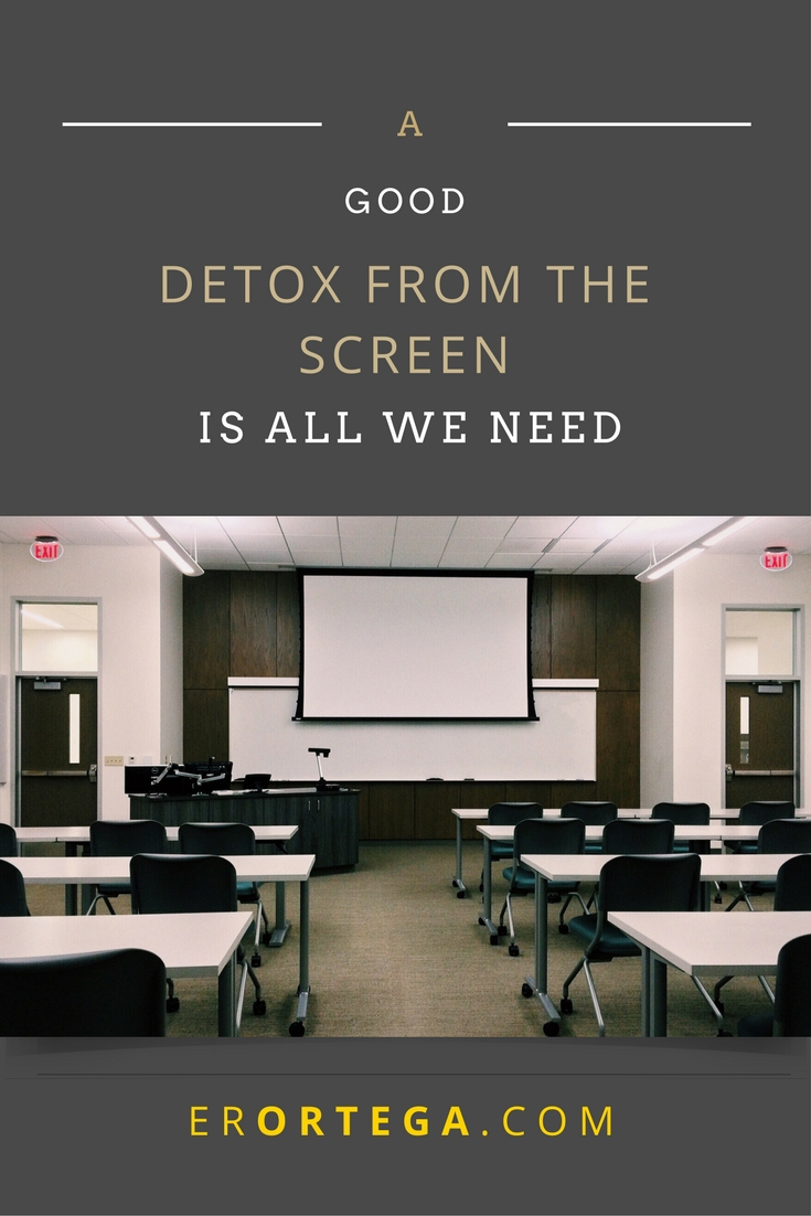 What occupies our time will be very telling of who we are. Click to find out how to detox from digital devices that keep us from smelling a rose instead.