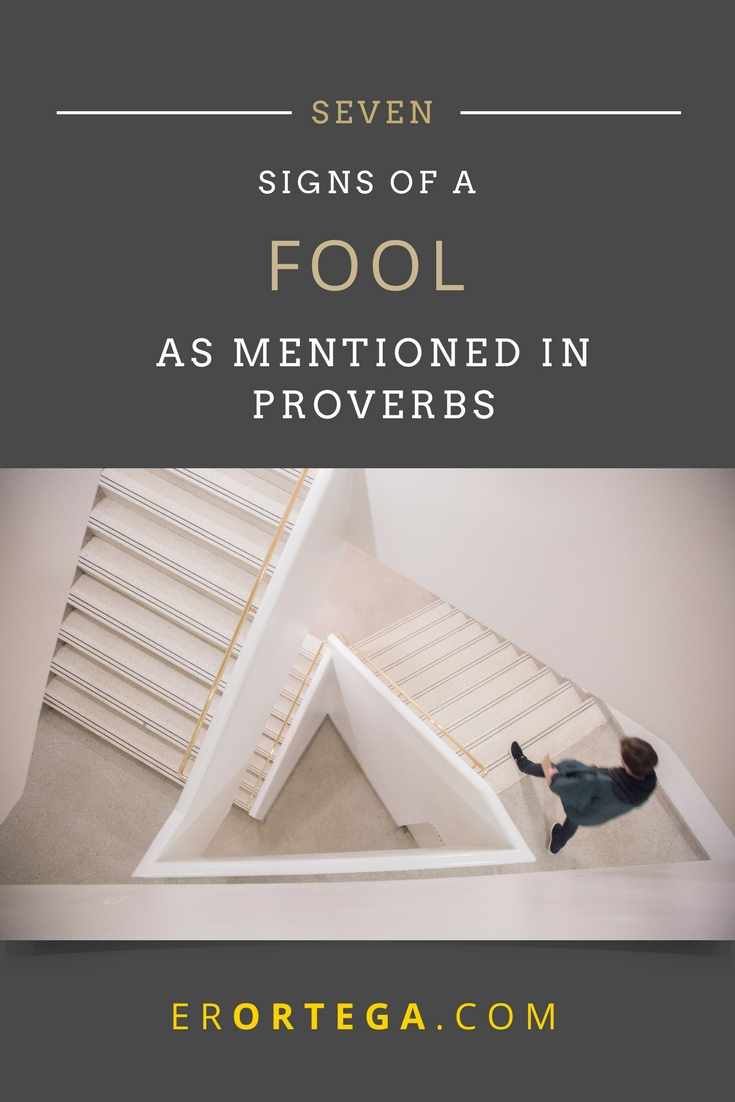 The book of Proverbs is full of wisdom. How do you deal with fools? How do you seek wisdom when confronting a fool? Here are seven signs of a fool as mentioned in Proverbs. Click to read full post.