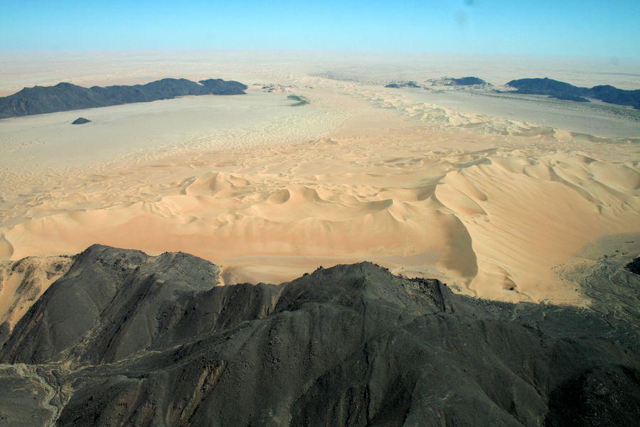 landscapes of the sahara