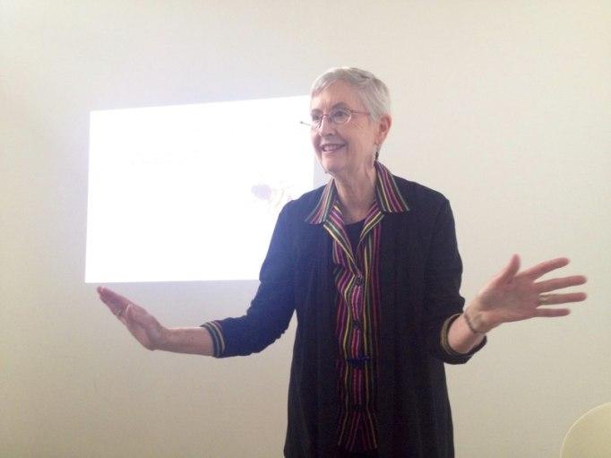 Лекция Мэрилин Хэмилтон в Москве (17 мая 2014)