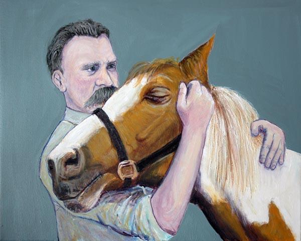 «Ницше и лошадь». Иллюстрация — Shardcore.