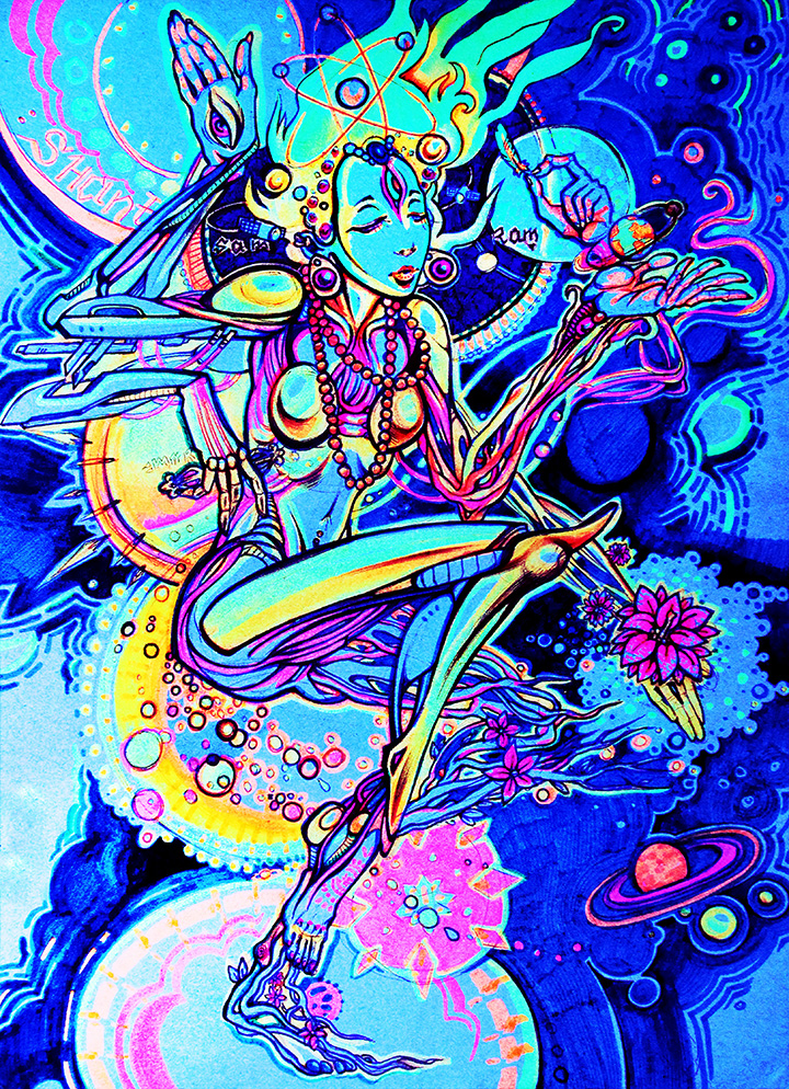 Shanti Dance by Limbic Splitter
