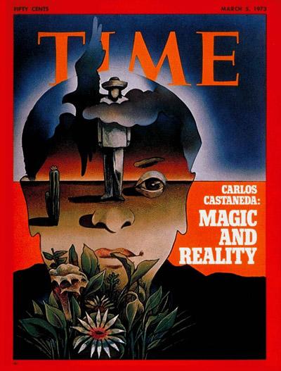 Обложка журнала «TIME», посвящённая Карлосу Кастанеде
