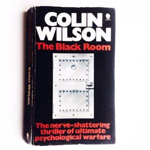Colin Wilson. The Black Room (book cover). Photo by Tatyana Parfenova