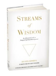 Обложка книги «Streams of Wisdom» («Реки мудрости»), автор книги — Дастин Диперна