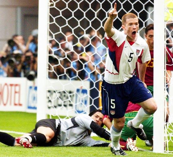 Джон О'Брайен (после забитого мяча в ворота Португалии на Чемпионате мира 2002)