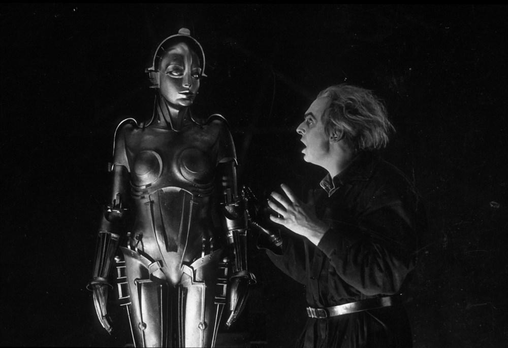 Кадр из художественного фильма «Метрополис» (1927)