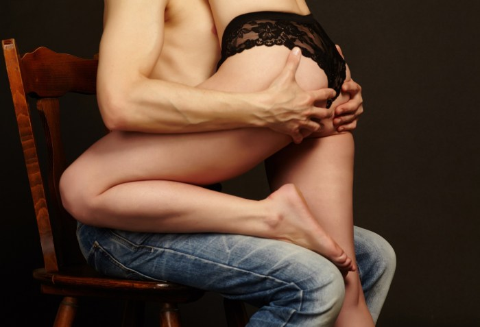 one-night stand with a woman