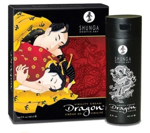 Crema del dragón Shunga - Hombre
