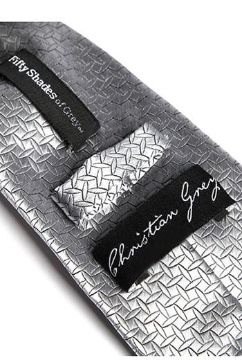 Corbata gris 50 Sobras de Grey