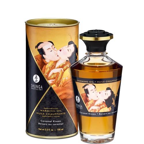 Aceite Afrodisiaco Calor SHUNGA Nuevos sablores