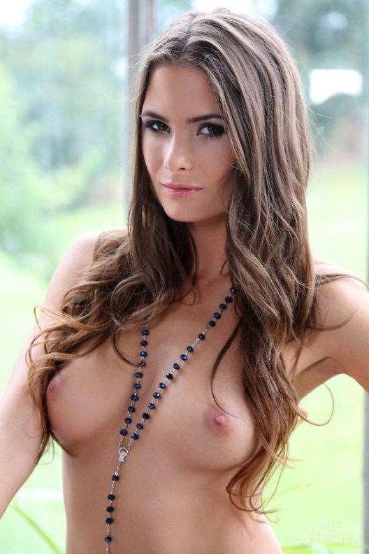 Erotic girl showing her Boobs