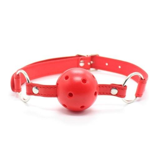Pembe Deri Ayarlanabilir Seksi Ağız Topu Fantezi Ağız Topu