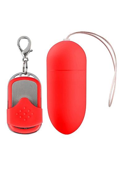 Shots Toys vibratie ei groot draadloos rood