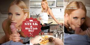 I dag er det Bøf & Blowjob dag (Steak & Blowjob)