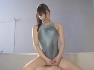 夢の競泳水着×由愛可奈