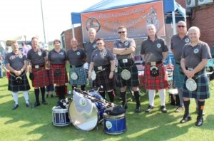 Pocklington Pipe Band in the early days. Its a Pockput 2019