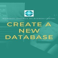 create a New Database in Dynamics 365 BC