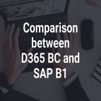 Comparison between D365 BC and SAP B1