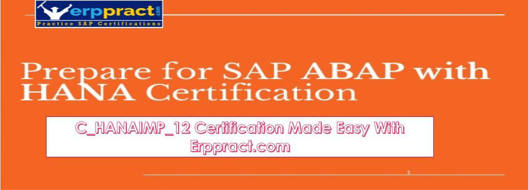 Erppract Practice Sap Certifications Exam Online