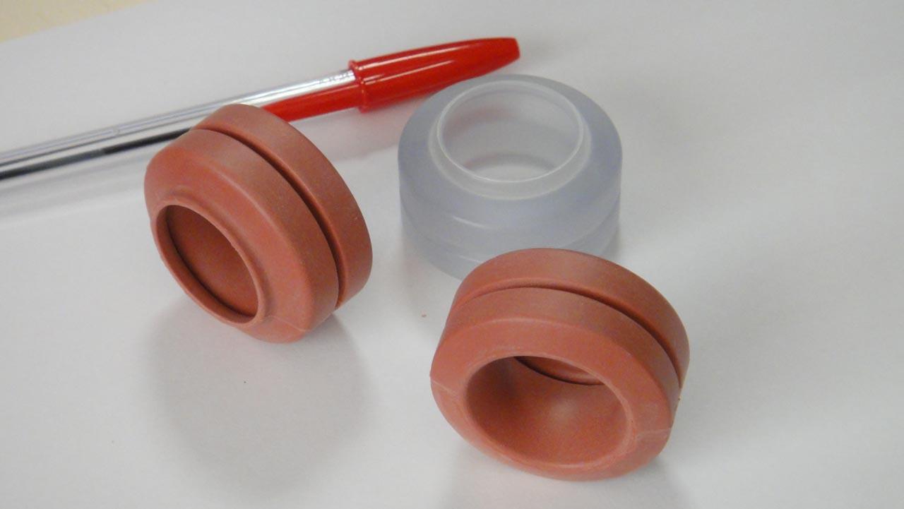 Pièces en silicone