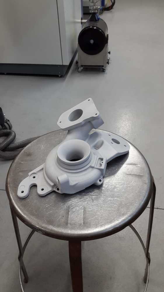 Exemple de pièce 3D réalisé en fusion métal