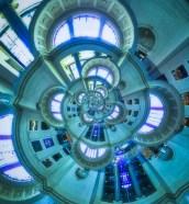 Droste in the Rotunda