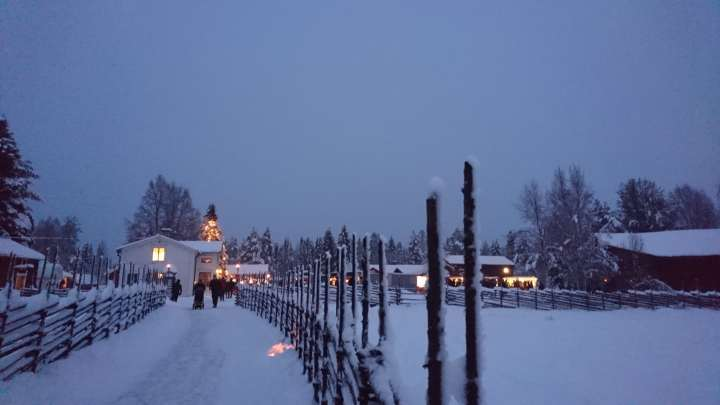 Luleå Christmas market 2018