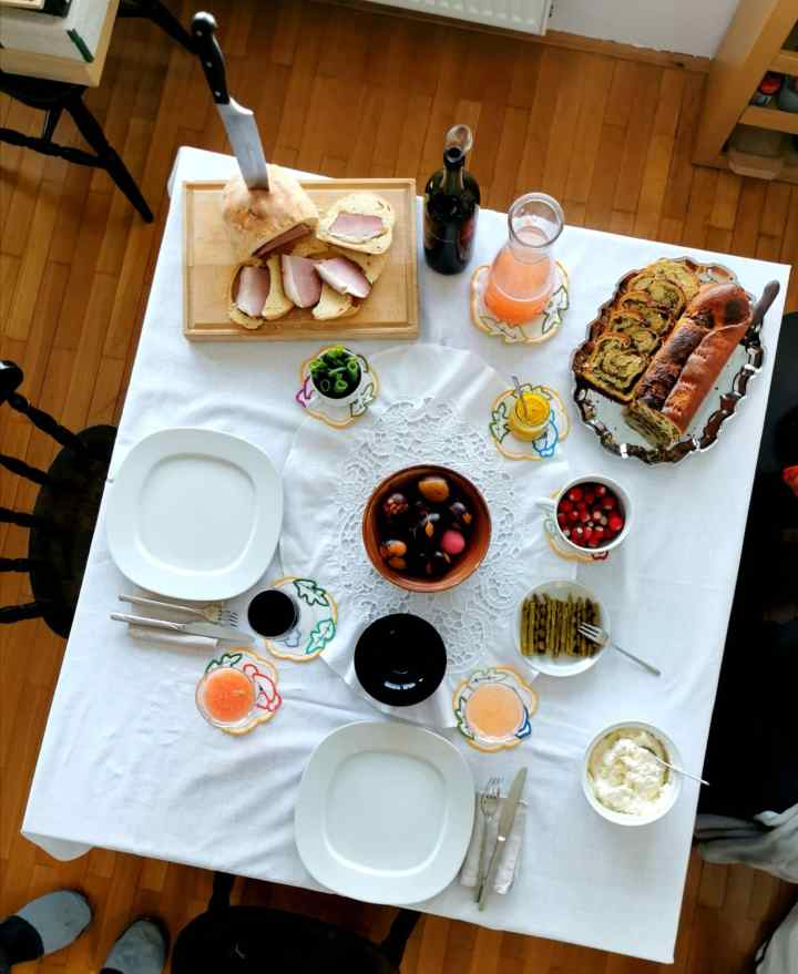 Slovenian Easter food and traditions
