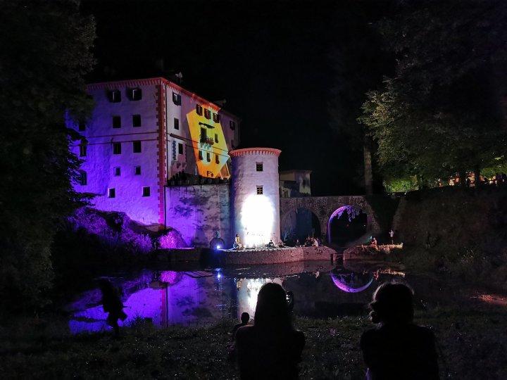 Floating castle festival