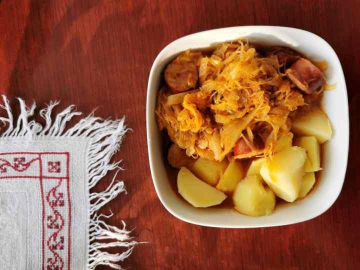 Slovenian winter stews - segedin