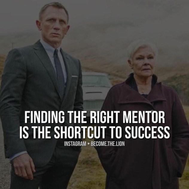um mentor e um atalho para o sucesso