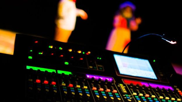 Mesa de Luces do Teatro