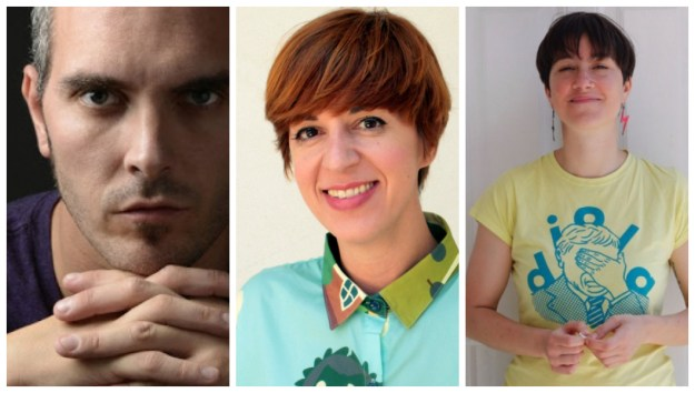 Tito Asorey, Marta Pazos, Laura Iturralde