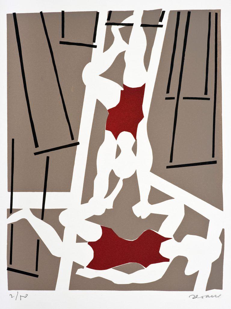 Estampa de Circo. 1974. Luís Seoane