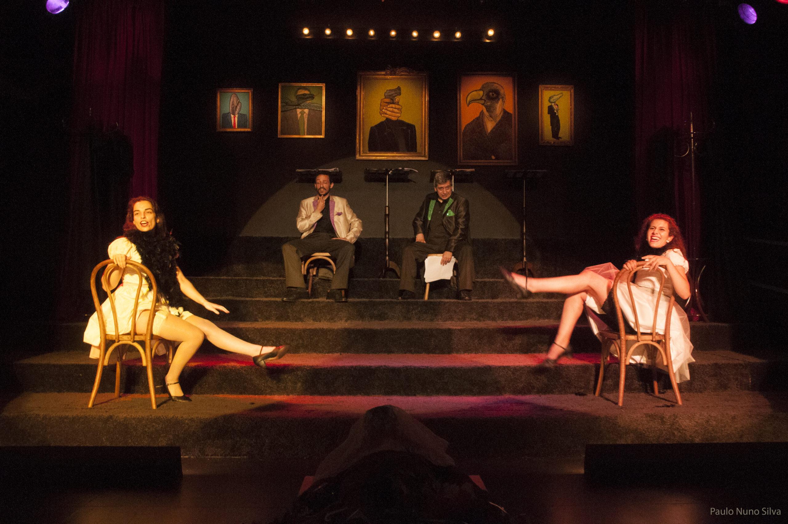 Discurso sobre o filho-da-puta. Teatro da Rainha. Foto Paulo Nuno Silva